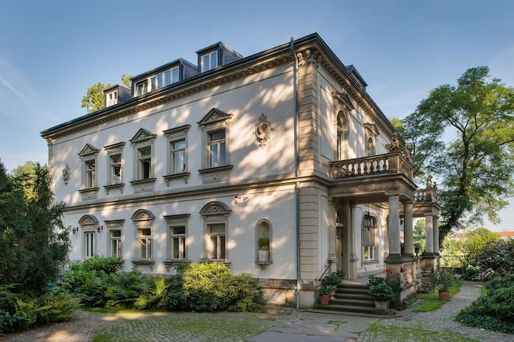 "Villa Anna Dresden, ""Gartenblick"" - Dresden - Huoneisto"