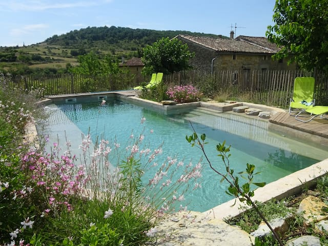 18th century farmhouse with pool - Lagorce
