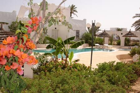Oxala House : Bungalow Andaman - Mezraya - Djerba