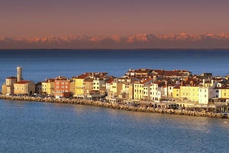 Apartment in historical city center - Piran