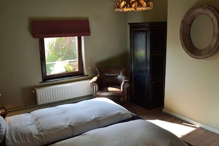 Bedroom two single  beds (bedroom 1).