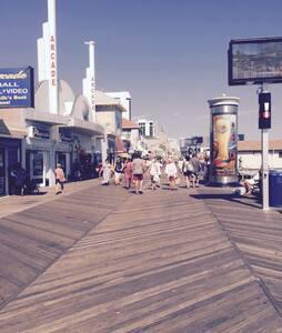 Steps to Boardwalk