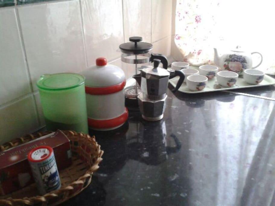 Para un buen despertar café o té