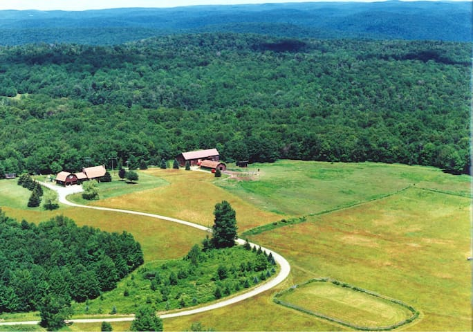 Secluded 160 Acre mountain top home - Susquehanna - Casa