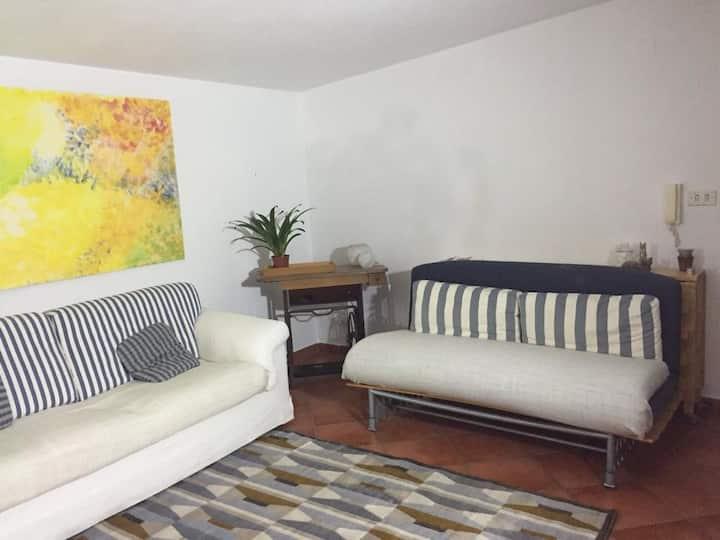 Confortevole mansarda con terrazzo