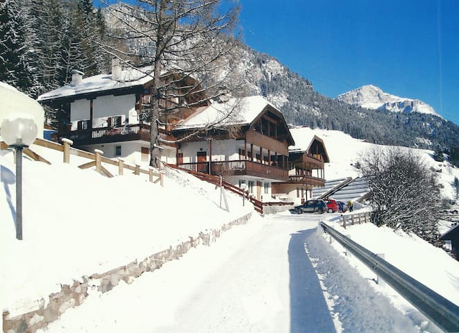 6 beds nested in the Dolomites - Campitello di Fassa - Huoneisto