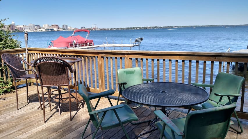 Lakeside location, beautiful views! - Madison - Apartment