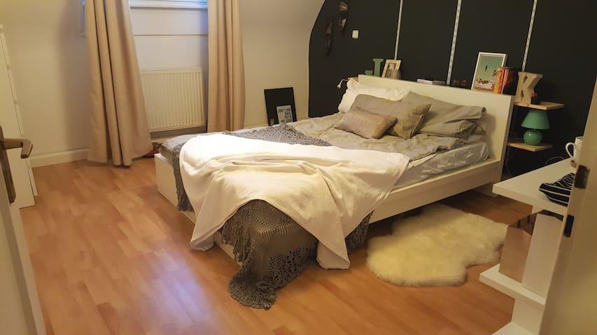 Gemütliches Zimmer im Zentrum mit Parkmöglichkeit - Saarbrücken - Apartment