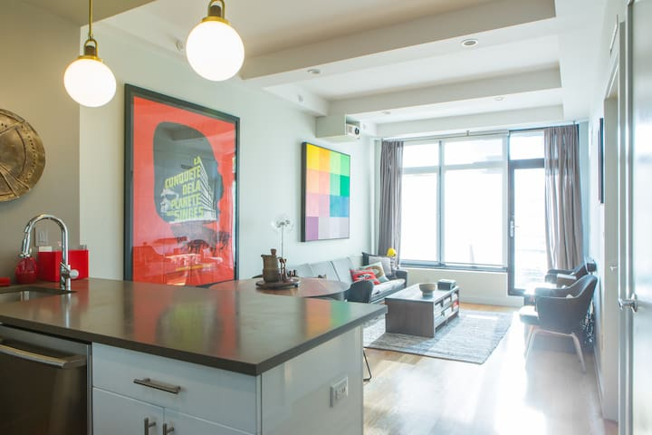 Modern 1 Bedroom in Dumbo / Vinegar Hill