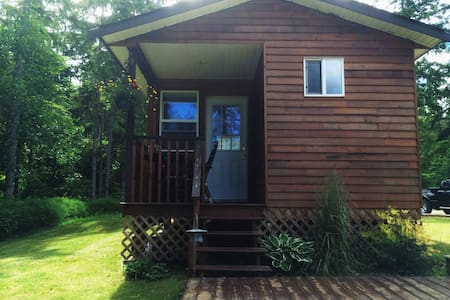 Country cottage on a hobby farm - Parksville - Cabaña