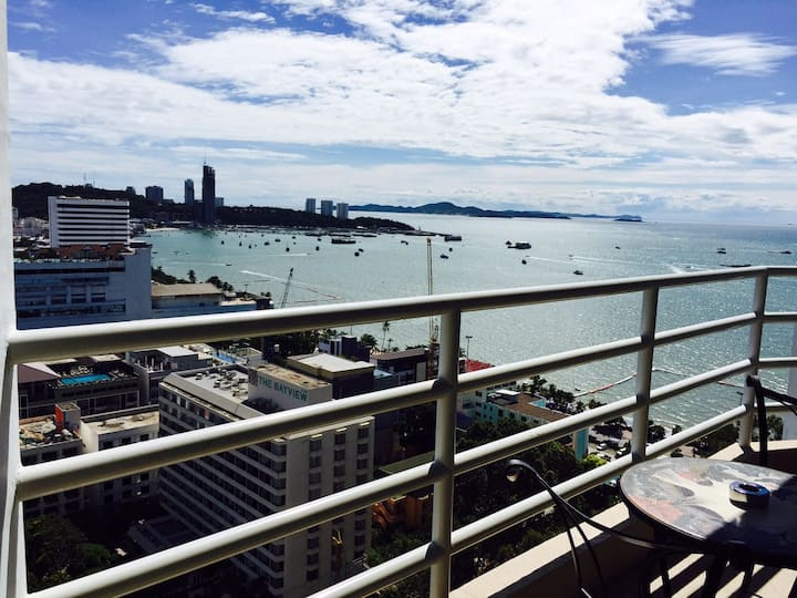 View Talay 6 Pattaya Beach By Honey Sea View.