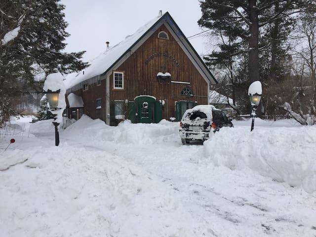 Rustic VT Barn Home near Jay Peak