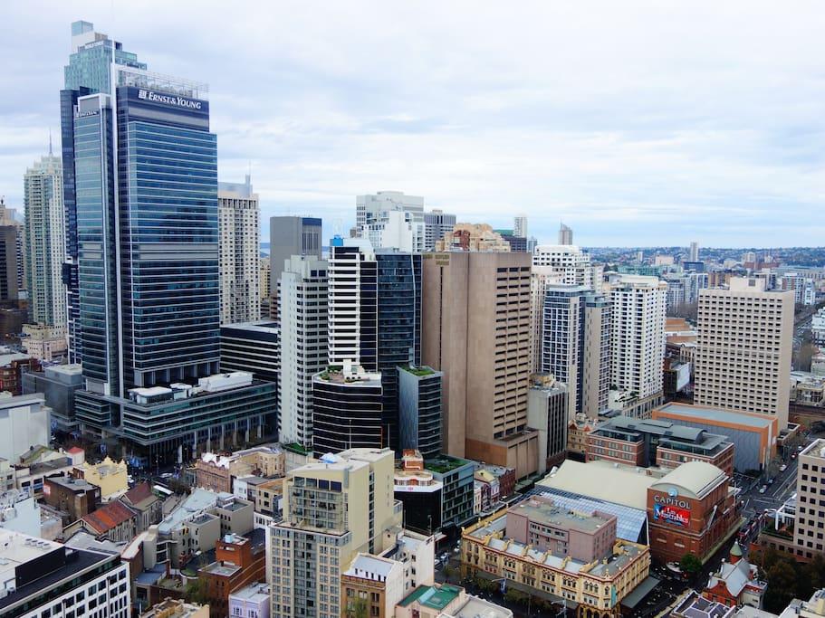 Stunning views of sydney city appartements louer - Appartement circulaire sydney en australie ...