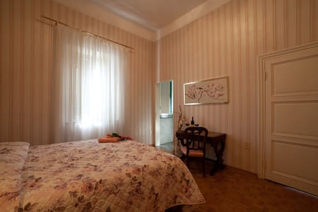 B&B in a Tuscan Villa-Camera Rosa- - 恩波利
