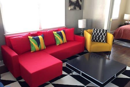 Cozy 2 BR Cooper Young Apartment #4 - Memphis - Lakás