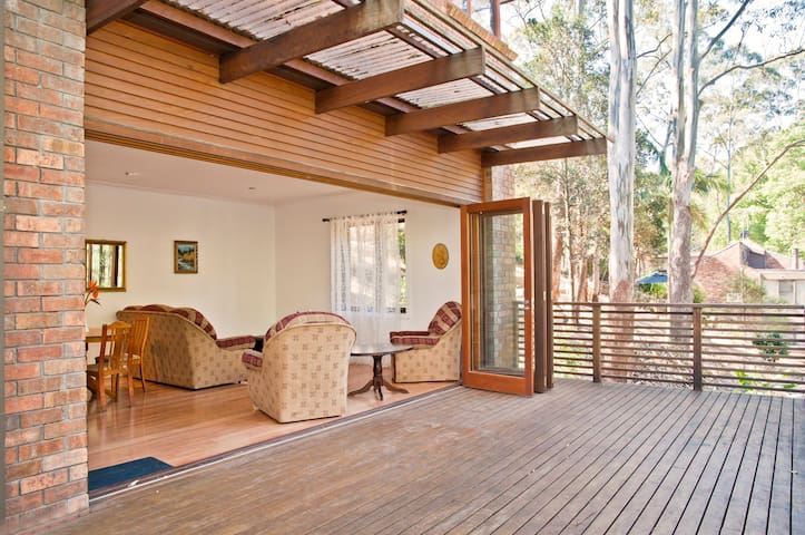 Private oasis 5 minutes to rails, nature retreat - Pymble - Apartamento