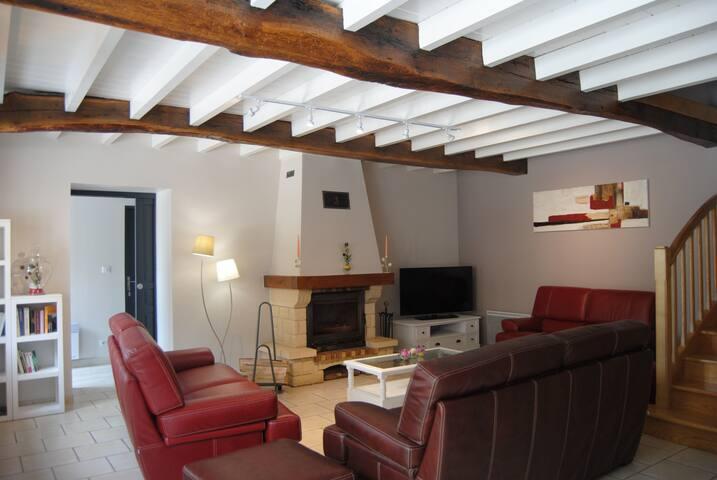 Chambres d'Hôtes Chez Darrouy - Escoubès-Pouts - Aamiaismajoitus
