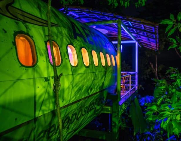 The Jungle Landing Bungalow ~ Manuel Antonio