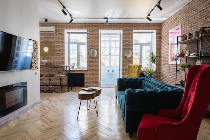New York City Style Loft in Heart of Kiev ID 216