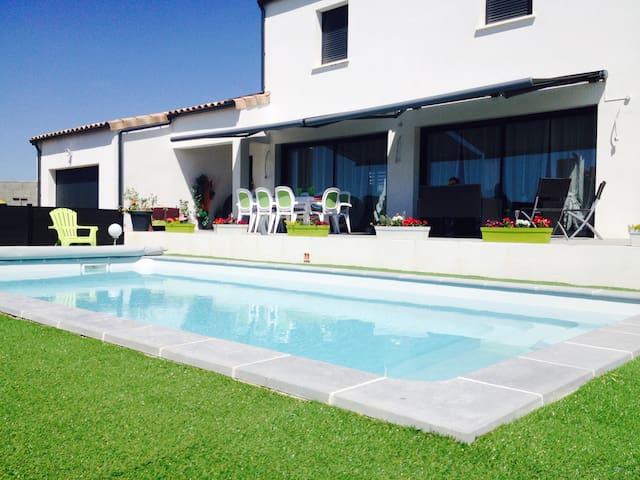 Maison au cœur des vignes - Magalas - Casa