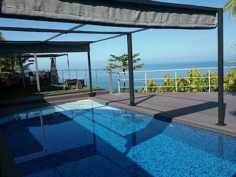 Villa de standing vue lagon & Moorea