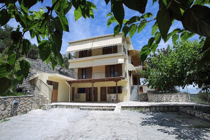 Akrivi's apartment by the sea