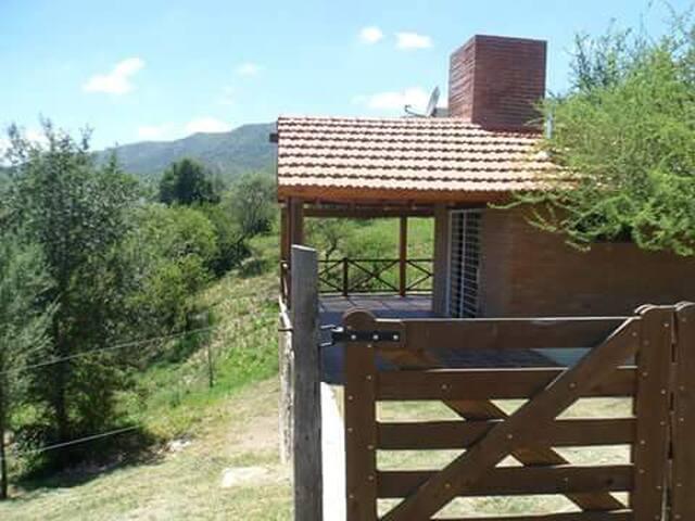 Cabañas la Lucía - Punilla - Zomerhuis/Cottage