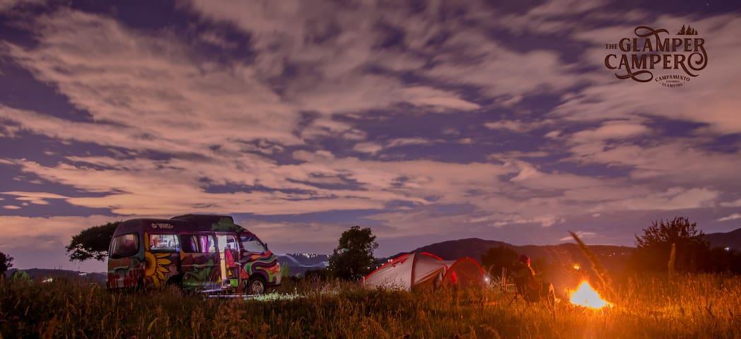 Happy Camper Van, Casa Rodante rv, glamping