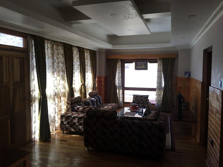 Tshetrim's place.