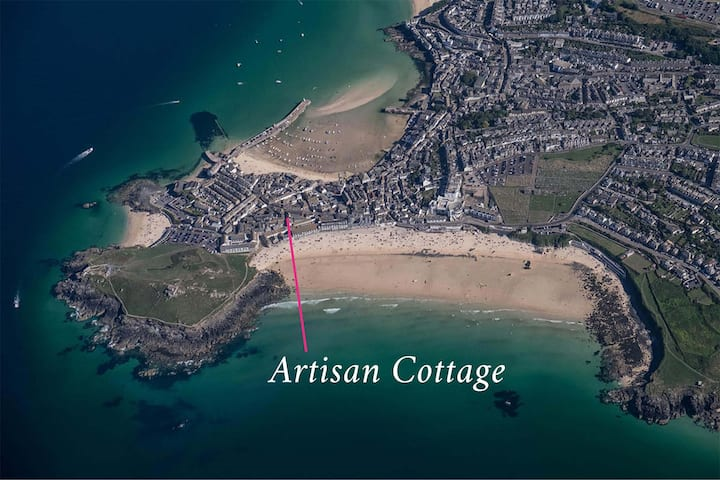 Gorgeous cottage near Porthmeor Beach and harbour