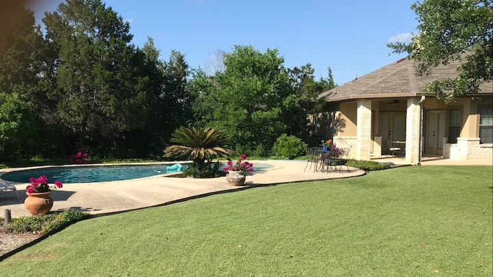 Hill Country Pool House