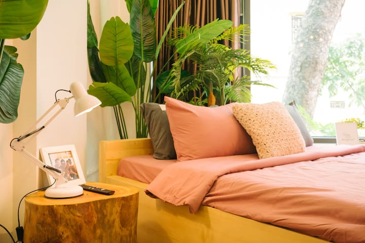 A bright but cosy bed designed just for you