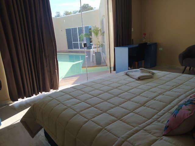 Junior Suite con acceso directo a la piscina