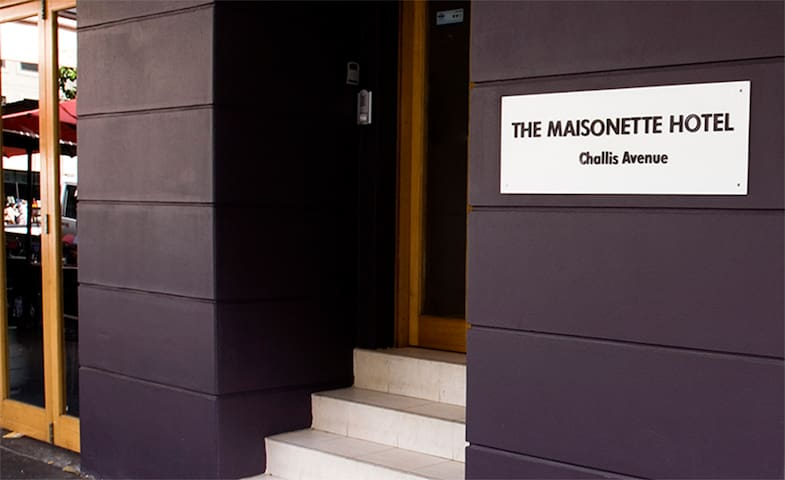 The Maisonette on Challis Avenue