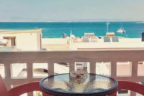 """Agistri """"Anesi"""" sea view studio close to the beach"""