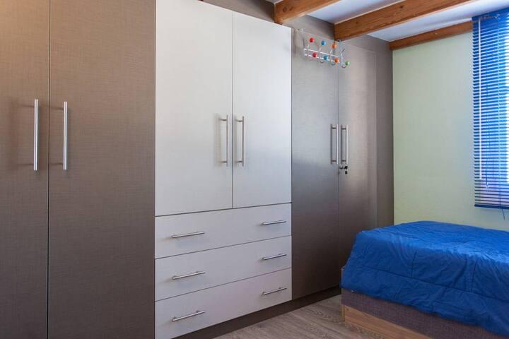 wardrobes in the bedroom