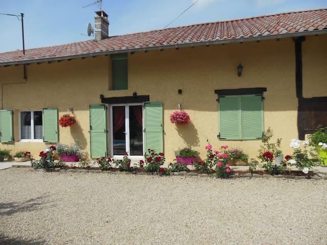Chez martial - Chavannes-sur-Reyssouze - 獨棟