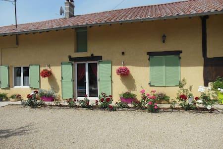 Chez martial - Chavannes-sur-Reyssouze - Huis