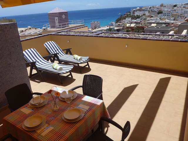 Sea terraces Morro Jable, Wifi free - Morro Jable - Daire