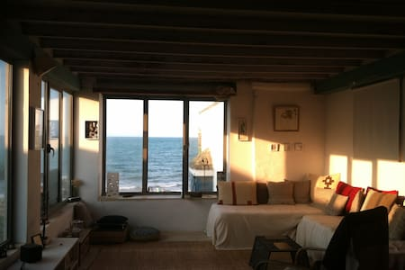 appartement  donnant sur la mer et terrasse jardin - la marsa