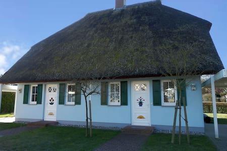 Reetgedeckte Doppel-Haushaelfte  - Born auf dem Darß - Haus