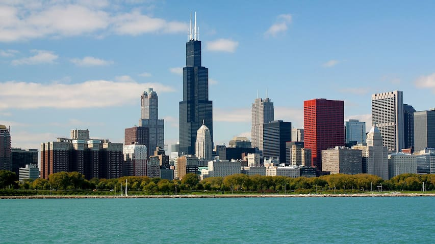 DOWNTOWN - RIGHT NEXT TO TRAIN - $40 OFF COUPON - Chicago - Appartement