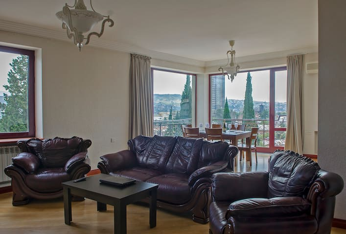 Lux Apartment1 (4Bedroom Penthouse) - Tbilisi - Apartment