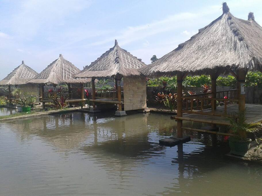 The Traditional Restaurant Inside The House