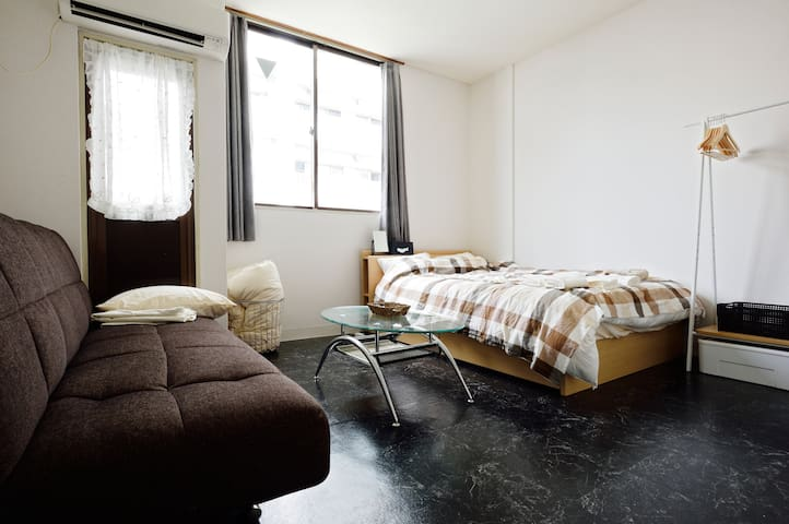 Shinsaibashi! 2 mins from Sta/free WiFi/neat - 大阪市西区 - Apartment