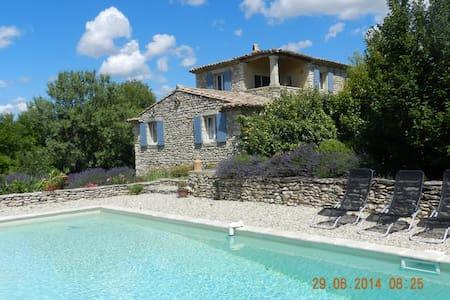 Maison de caractère en drome provencale + piscine - Chantemerle-lès-Grignan
