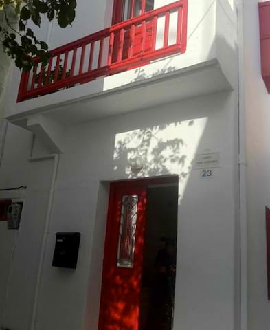 The Red House - Míkonos - House