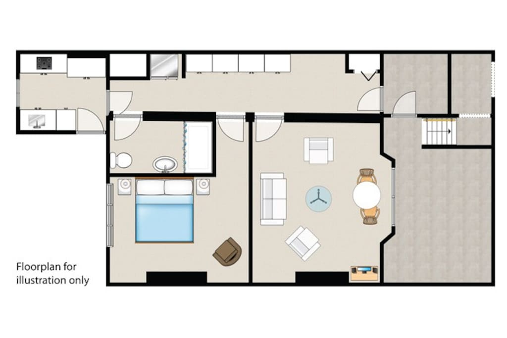 Floorplan of the flat