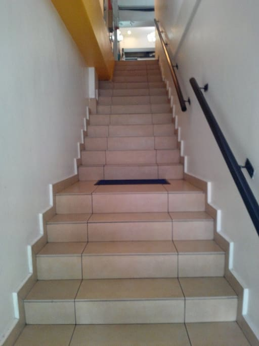 Hotel Entrance / Staircase