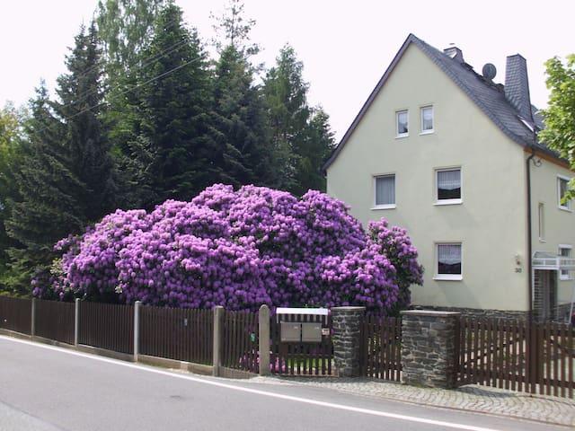 2-Zi.-Wohnung mit Balkon im Grünen